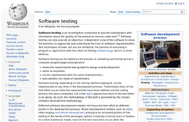 http://en.wikipedia.org/wiki/Software_testing#Beta_testing