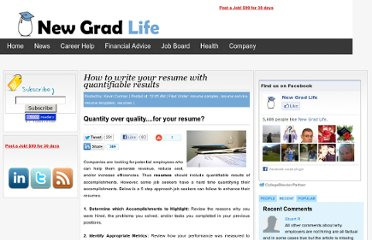 http://newgradlife.blogspot.com/2010/05/resume-writing-resume-samples-resume.html