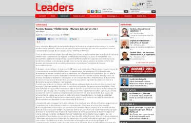 http://www.leaders.com.tn/article/tunisie-egypte-mediterranee-l-europe-doit-agir-et-vite?id=4109