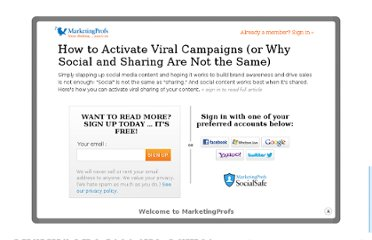 http://www.marketingprofs.com/articles/2011/4447/how-to-activate-viral-campaigns-or-why-social-and-sharing-are-not-the-same