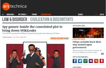 http://arstechnica.com/tech-policy/news/2011/02/the-ridiculous-plan-to-attack-wikileaks.ars
