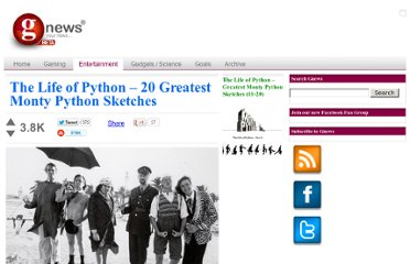 http://gnews.com/the-life-of-python20-greatest-monty-python-sketches-03200918105104/