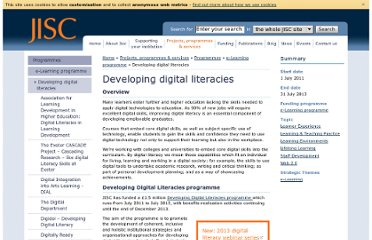 http://www.jisc.ac.uk/developingdigitalliteracies