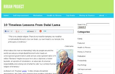 http://ririanproject.com/2007/02/14/10-timeless-lessons-from-dalai-lama/