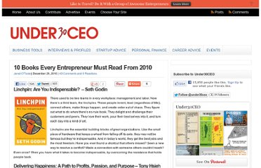 http://under30ceo.com/10-books-every-entrepreneur-must-read-from-2010/