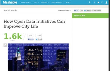 http://mashable.com/2011/02/15/how-open-data-initiatives-can-improve-city-life/