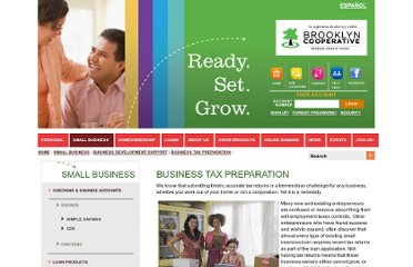 http://www.brooklyn.coop/small-business/business-development-support/business-tax-preparation