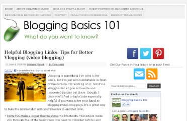 http://www.bloggingbasics101.com/2010/06/helpful-blogging-links-tips-for-better-vlogging-video-blogging/