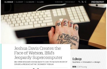 http://www.fastcodesign.com/1663236/joshua-davis-creates-the-face-of-watson-ibms-jeopardy-supercomputer