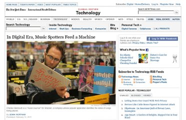 http://www.nytimes.com/2011/02/14/technology/14shazam.html?_r=3&pagewanted=all