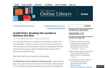 http://blog.scribd.com/2010/11/19/scribd-stats-reading-the-numbers-between-the-lines/