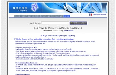 http://www.xcess.info/5_free_solutions_to_convert_anything_to_anything_aen.aspx