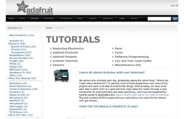 http://www.adafruit.com/index.php?main_page=tutorials