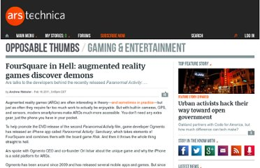 http://arstechnica.com/gaming/news/2011/02/foursquare-in-hell-augmented-reality-games-go-paranormal.ars