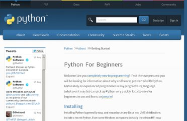 http://www.python.org/about/gettingstarted/