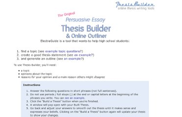 Thesis statement - definition, examples, and guidelines