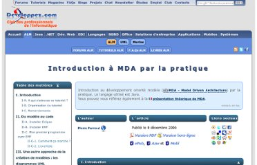 http://pparrend.developpez.com/tutoriel/mda-pratique/