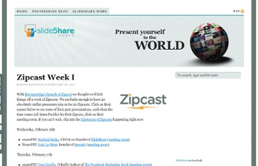 http://blog.slideshare.net/2011/02/16/zipcast-week-i/