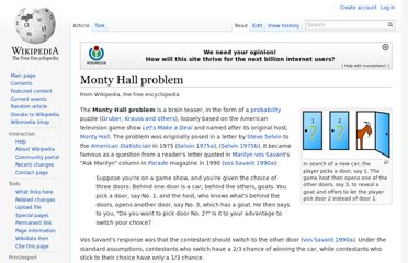 http://en.wikipedia.org/wiki/Monty_Hall_problem