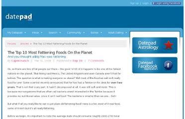 http://www.datepad.com/articles/the-top-10-most-fattening-foods-on-the-planet/