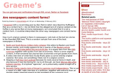 http://pietersz.co.uk/2011/02/newspapers-content-farms