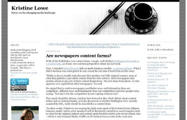 http://kristinelowe.blogs.com/kristine_lowe/2011/02/are-newspapers-content-farms.html