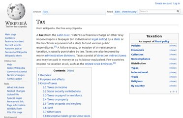 http://en.wikipedia.org/wiki/Tax