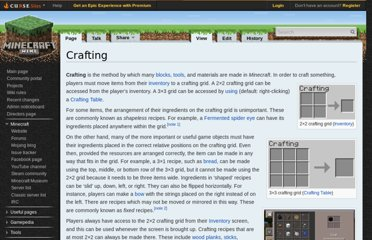 http://www.minecraftwiki.net/wiki/Crafting#Basic_Recipes