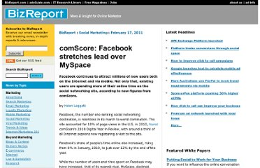 http://www.bizreport.com/2011/02/comscore-facebook-stretches-lead-over-myspace.html
