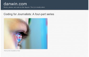 http://danwin.com/coding-for-journalists-a-four-part-series/