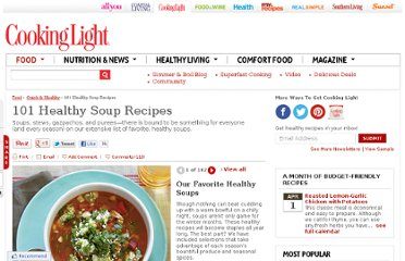 http://www.cookinglight.com/food/quick-healthy/healthy-soup-recipes-00412000070018/