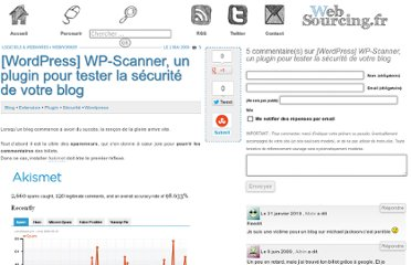 http://blog.websourcing.fr/wordpress-wp-scanner-un-plugin-pour-tester-la-securite-de-votre-blog/