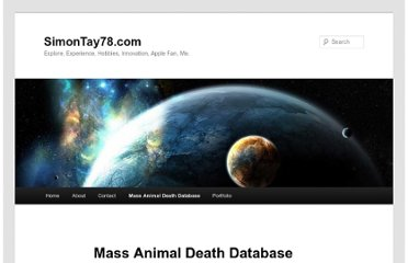 http://simontay78.com/mass-animal-death-database/