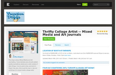 http://www.blogcatalog.com/blogs/thrifty-collage-artist-mixed-media-and-art-journals