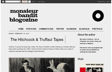 http://monsieurbandit.blogspot.com/2011/02/hitchcock-truffaut-tapes.html