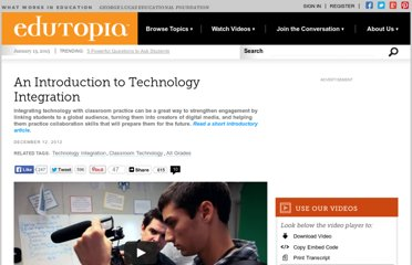http://www.edutopia.org/technology-integration-introduction-video