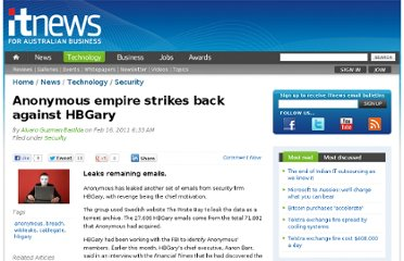 http://www.itnews.com.au/News/248250,anonymous-empire-strikes-back-against-hbgary.aspx