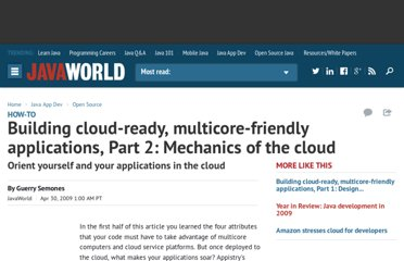 http://www.javaworld.com/javaworld/jw-04-2009/jw-04-multicore-and-cloud-ready-2.html