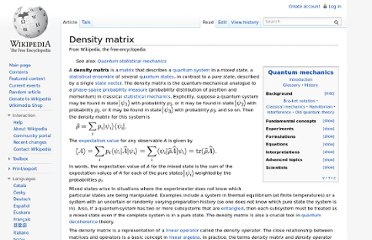http://en.wikipedia.org/wiki/Density_matrix