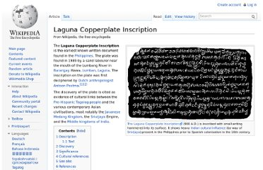http://en.wikipedia.org/wiki/Laguna_Copperplate_Inscription