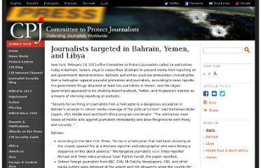 http://www.cpj.org/2011/02/journalists-targeted-in-bahrain-yemen-and-libya.php