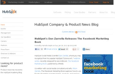 http://www.hubspot.com/blog/bid/8621/HubSpot-s-Dan-Zarrella-Releases-The-Facebook-Marketing-Book