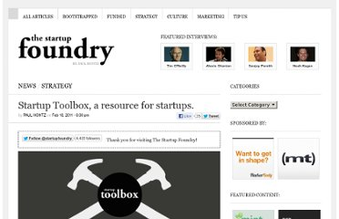 http://thestartupfoundry.com/2011/02/18/startup-toolbox-a-resource-for-startups/