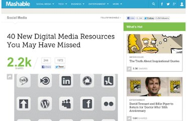 http://mashable.com/2011/02/19/digital-media-resources-3/