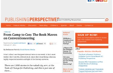 http://publishingperspectives.com/2011/02/book-maven-on-conventioneering/