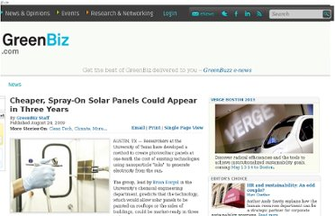 http://www.greenbiz.com/news/2009/08/24/cheaper-spray-solar-panels-could-appear-three-years
