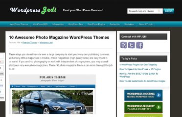 http://www.wpjedi.com/best-wordpress-photo-magazine-themes/
