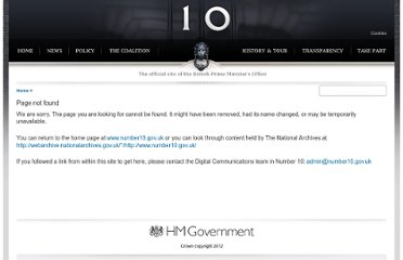 http://www.number10.gov.uk/Page21681