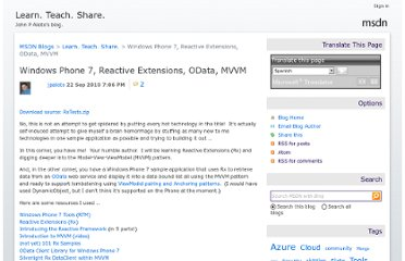 http://blogs.msdn.com/b/johnalioto/archive/2010/09/22/10066508.aspx