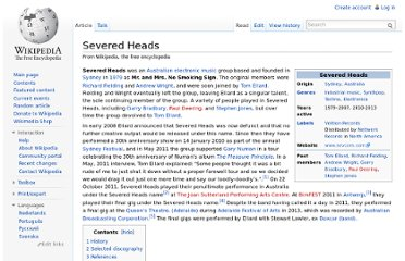 http://en.wikipedia.org/wiki/Severed_Heads